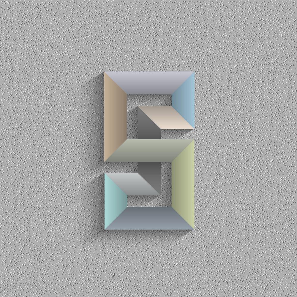 Abstract Geometric Shape