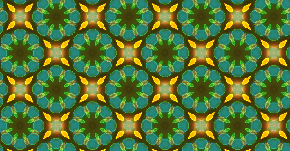 Abstract Graphic Flourish Pattern Design
