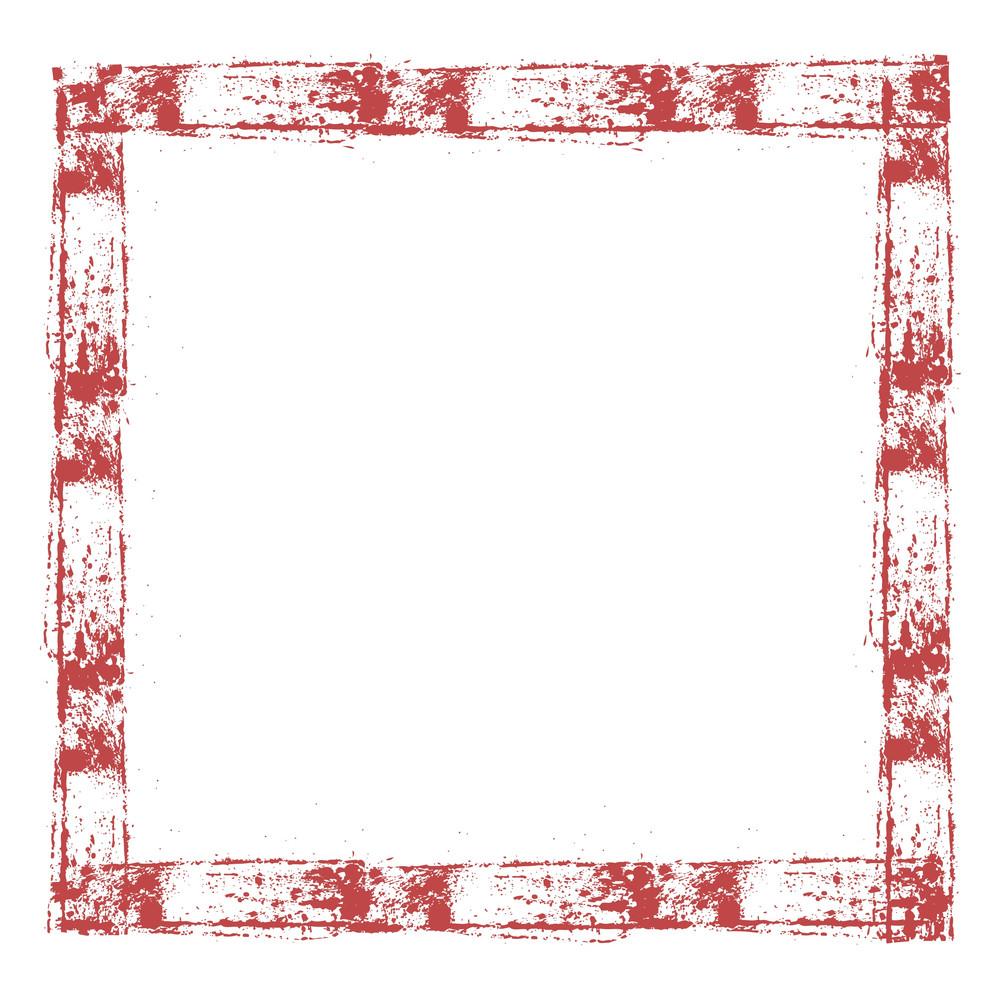 Abstract Grunge Frame Design