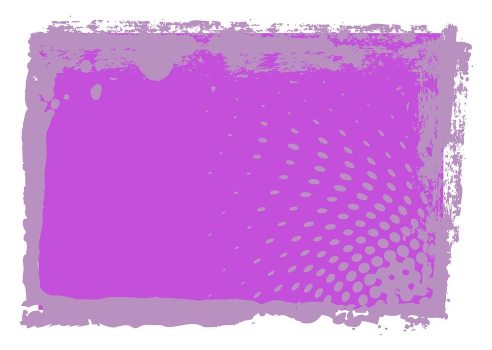 Abstract Grunge Halftone Banner Design