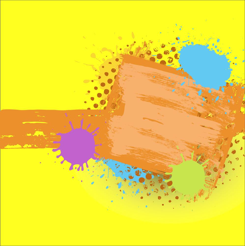 Abstract Grunge Texture Splash Background