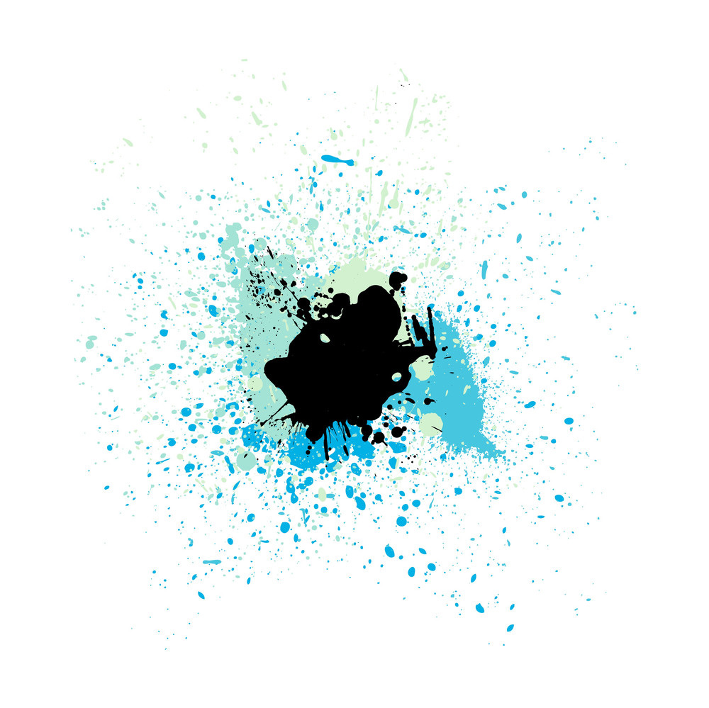 Abstract Grunge Texture Splash