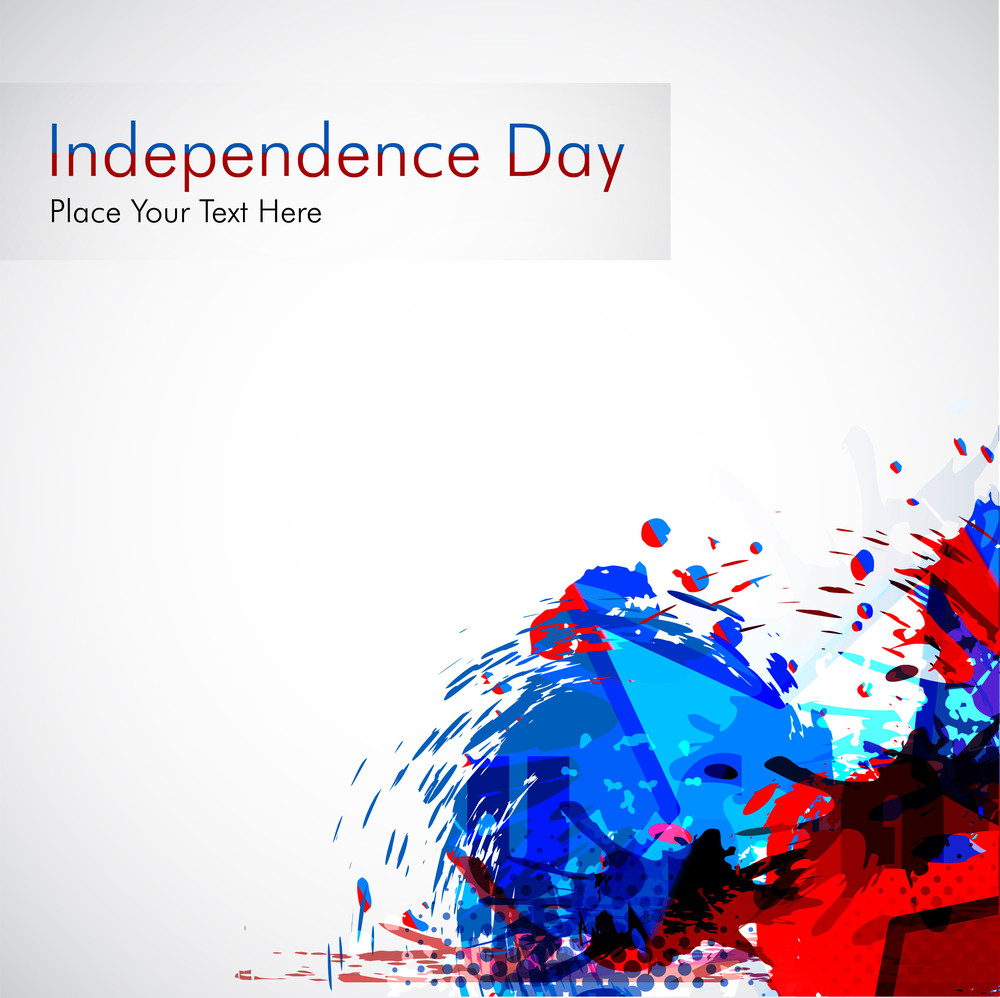 Abstract Grungy Background For 4 Th Of July.