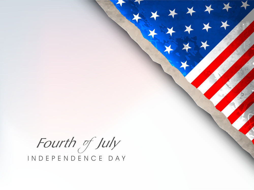 Abstract Grungy Background In American Flag Color For 4th Of July American Independence Day And Other Occasions Or Events.eps 10.