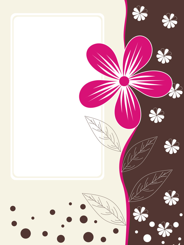 Abstract Halftone Pattern Card For Mother Day