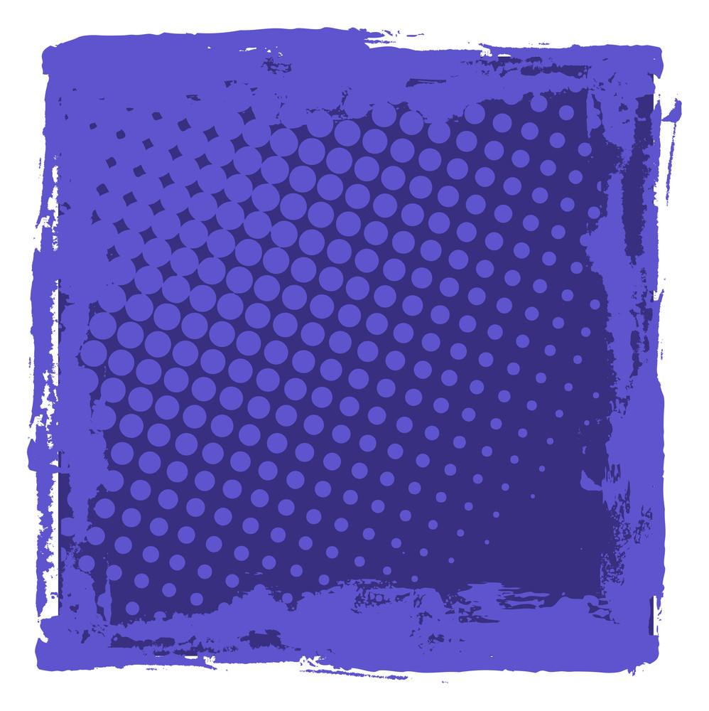 Abstract Halftone Texture Background