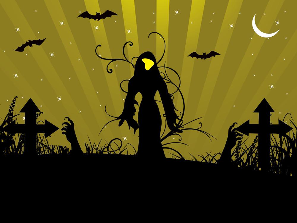 Abstract Halloween Series5 Design12