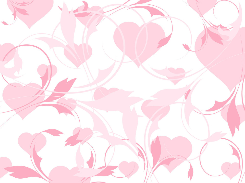 Abstract-illustration Heart-shape Pattern