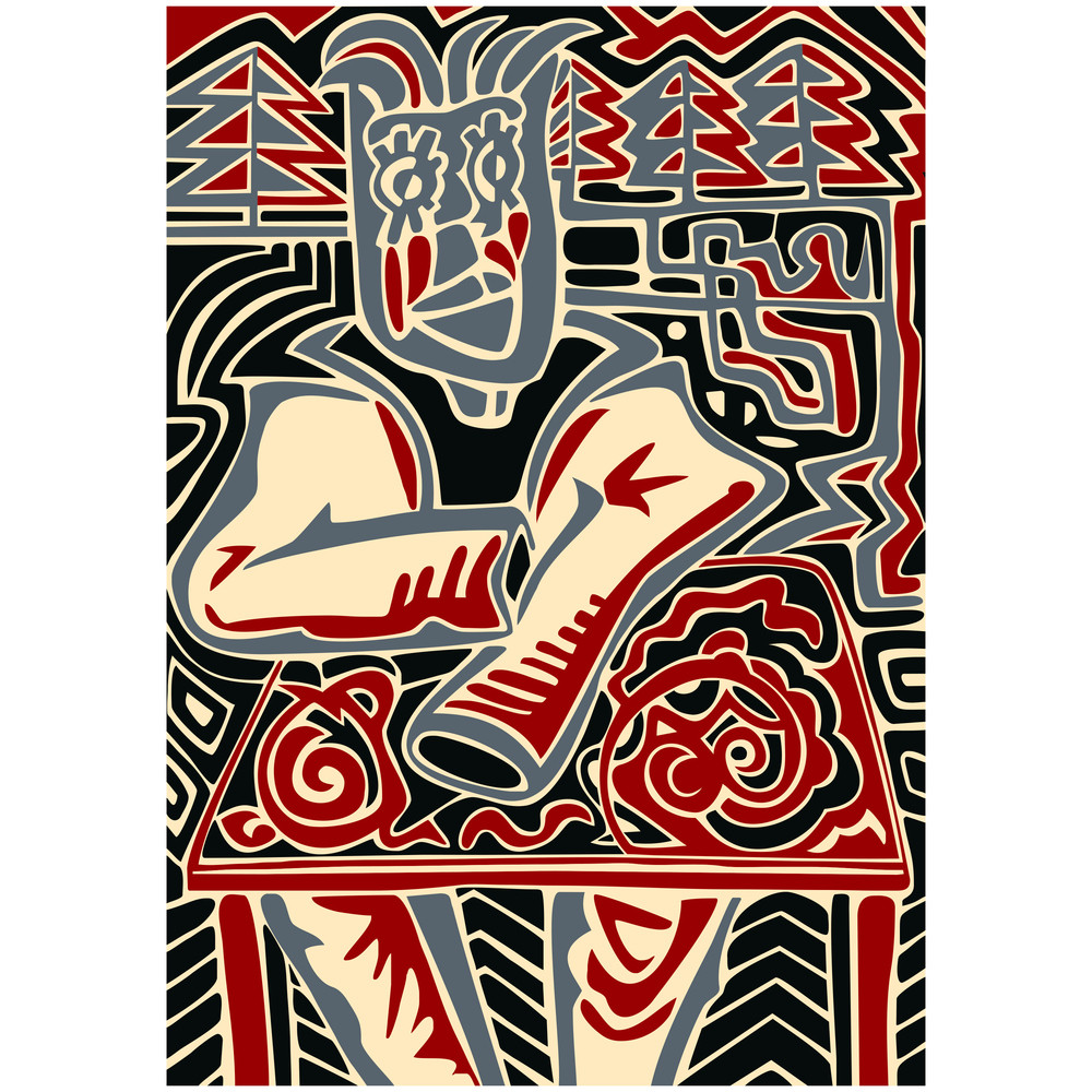 Abstract Illustration Of Man.