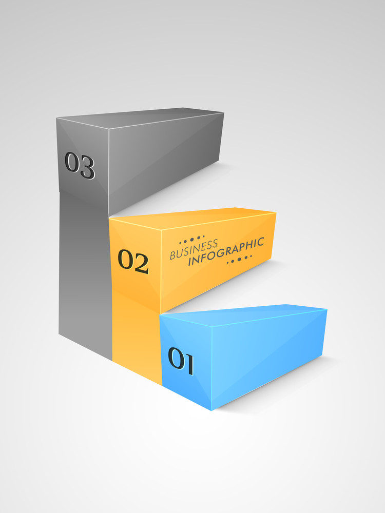 Abstract infographic layout with numerics on grey background for business presentation.