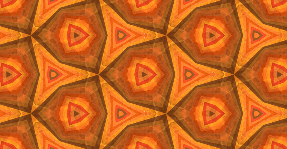 Abstract Kaleidoscope Graphic Design