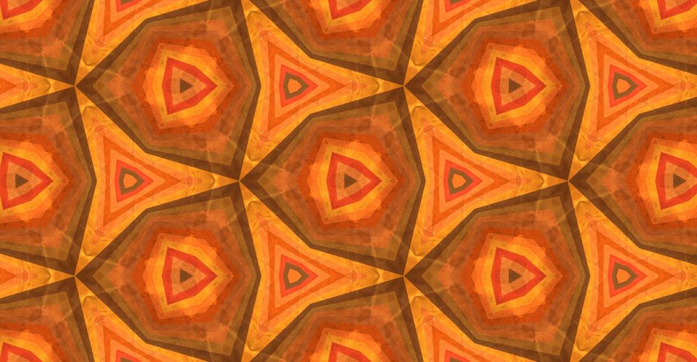 Abstract Kaleidoscope Graphic Design