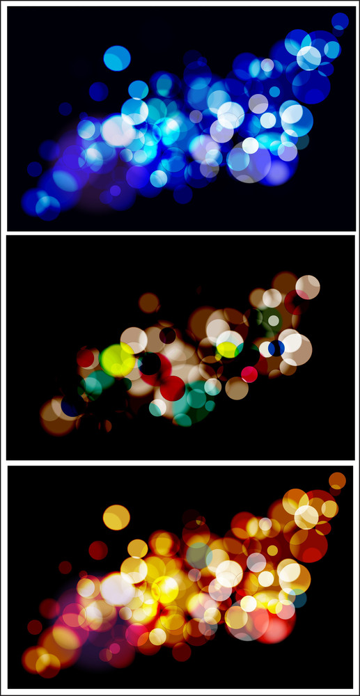 Abstract Lights Backgrounds Vectors