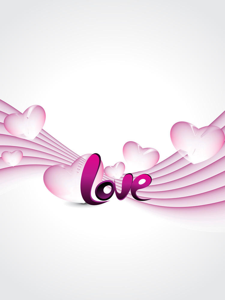 Abstract Love Concept Background