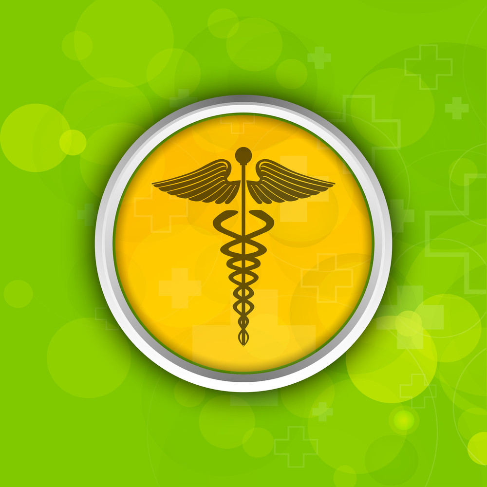 Abstract Medical Sticker