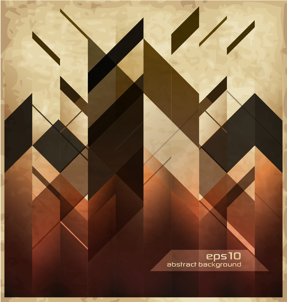 Abstract Modern Background With Geometric Shapes