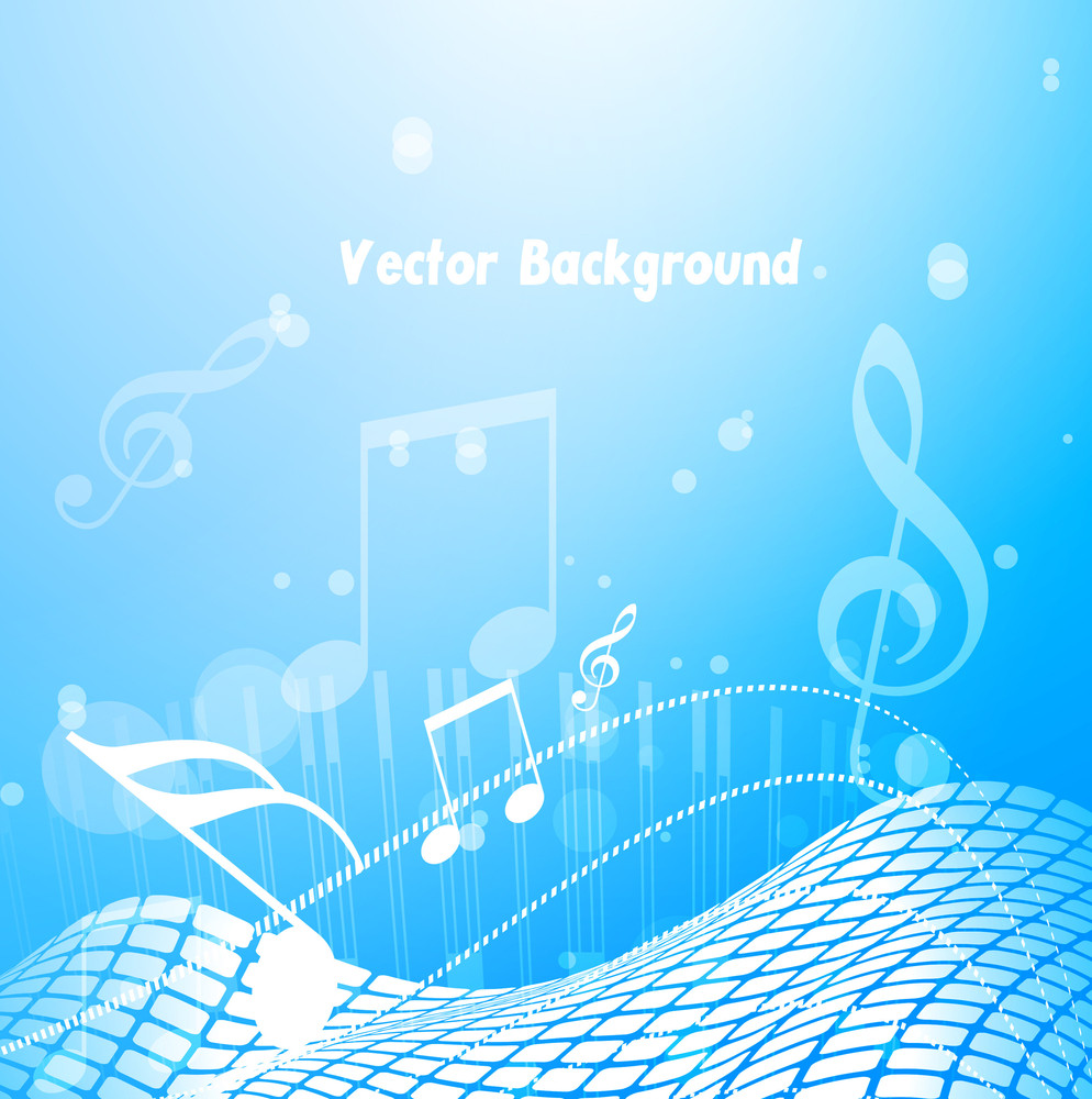 Abstract Music Backdrop