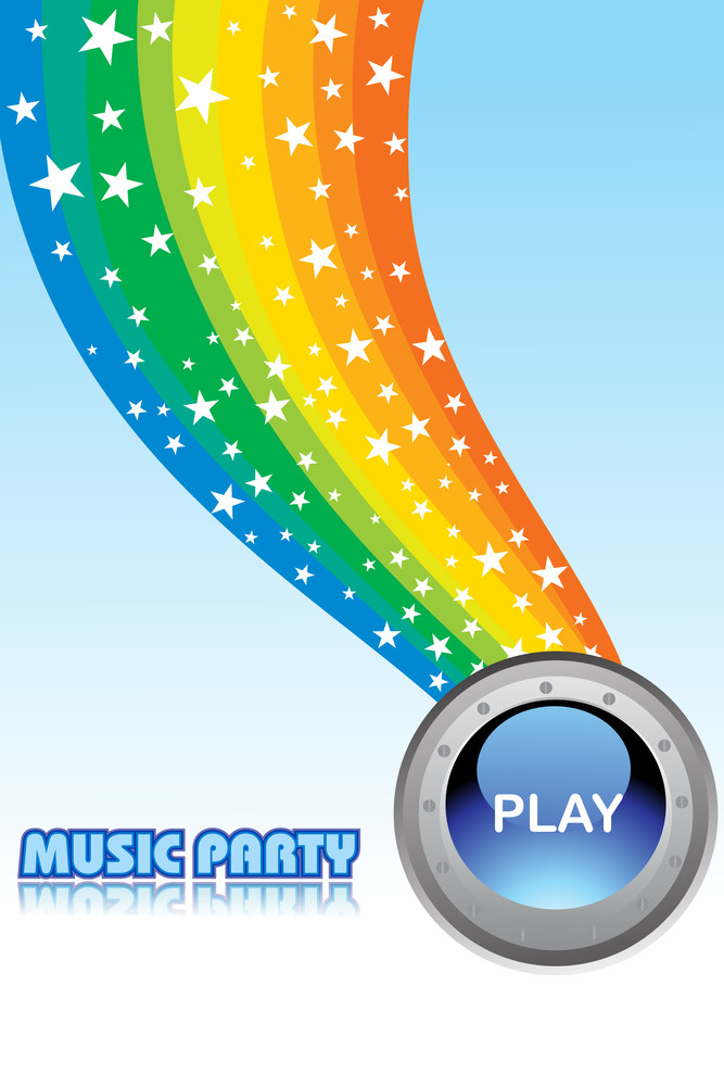 Abstract Music Party Background