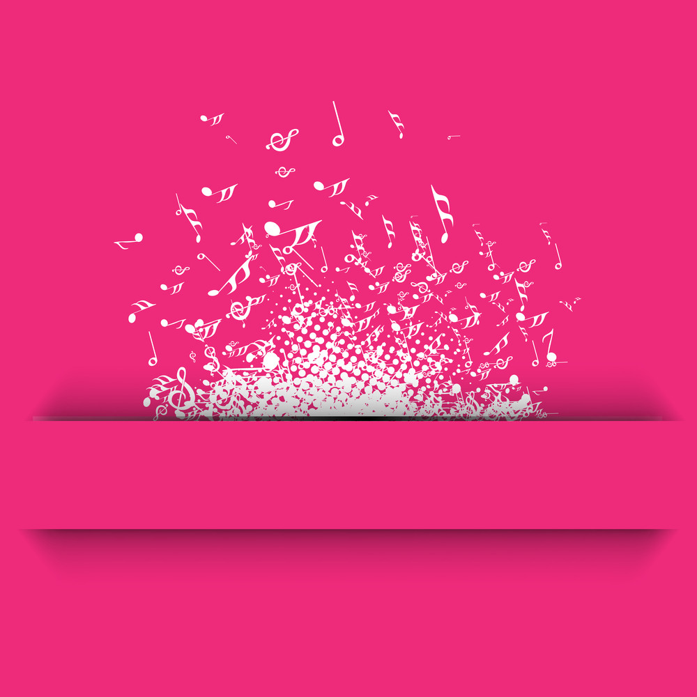 Abstract Musical Background.