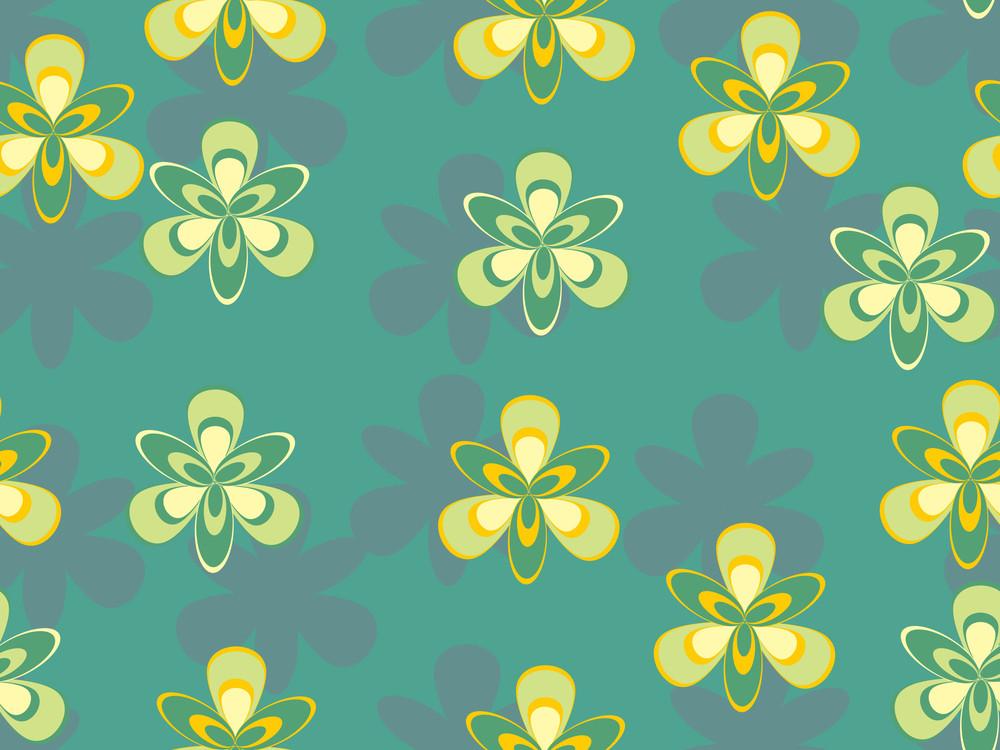 Abstract Natural Pattern Wallpaper