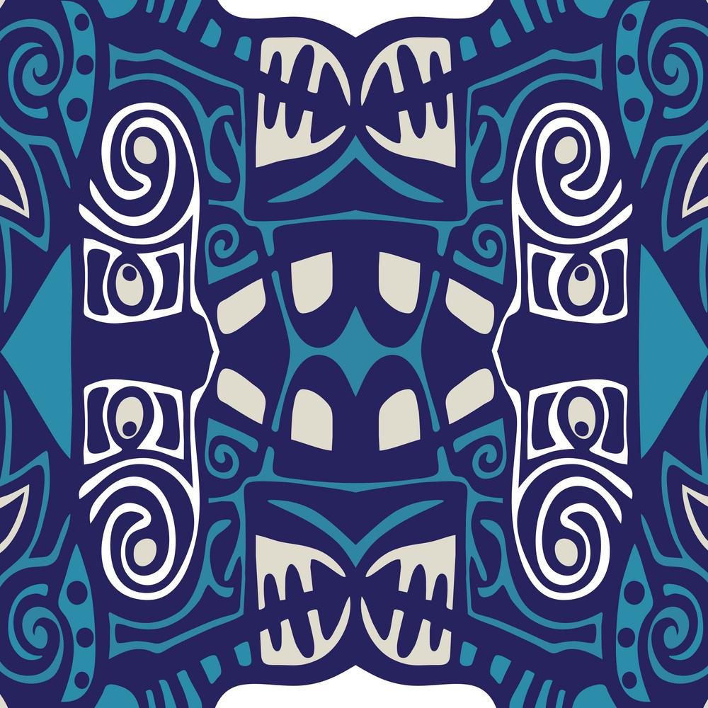 Abstract Ornament Wallpaper