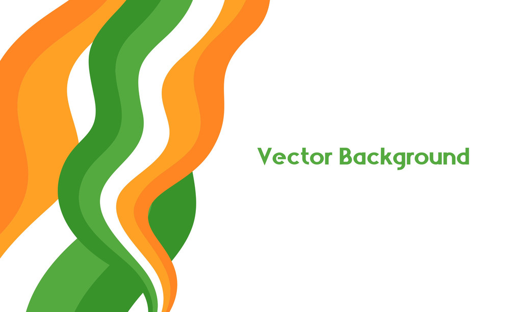 Abstract Patrick's Day Rainbow Banner
