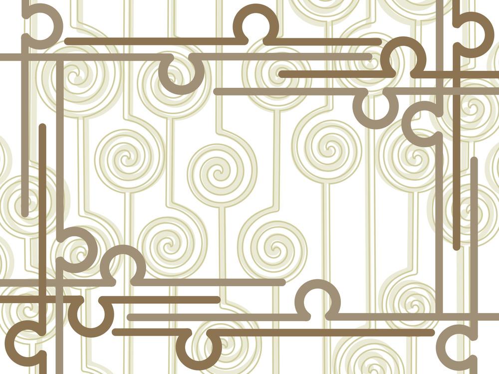 Abstract Pattern Illustration