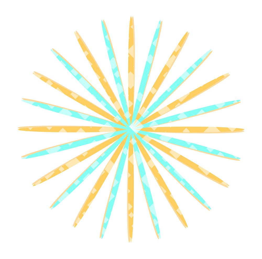 Abstract Pattern Sunburst