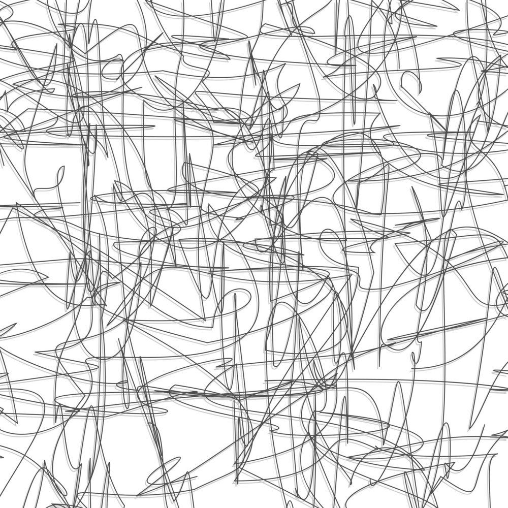 Abstract pencil sketch background