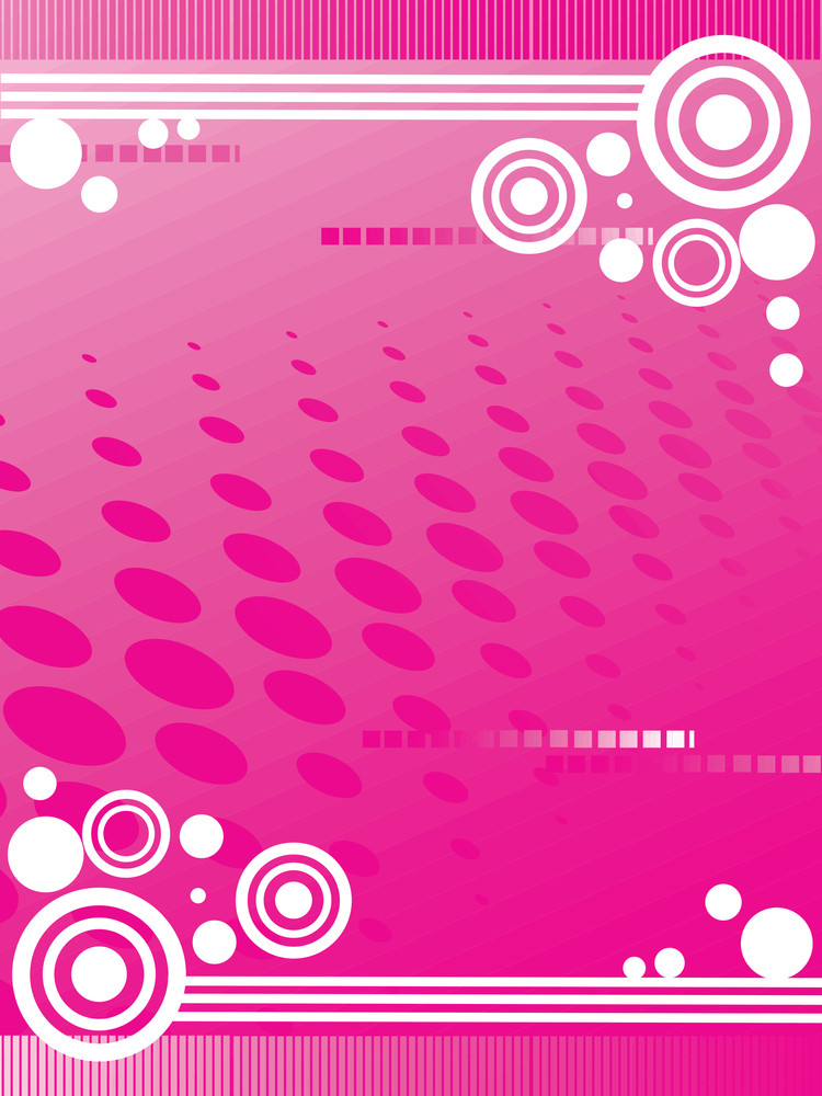 Abstract Pink Background Vector Illustration