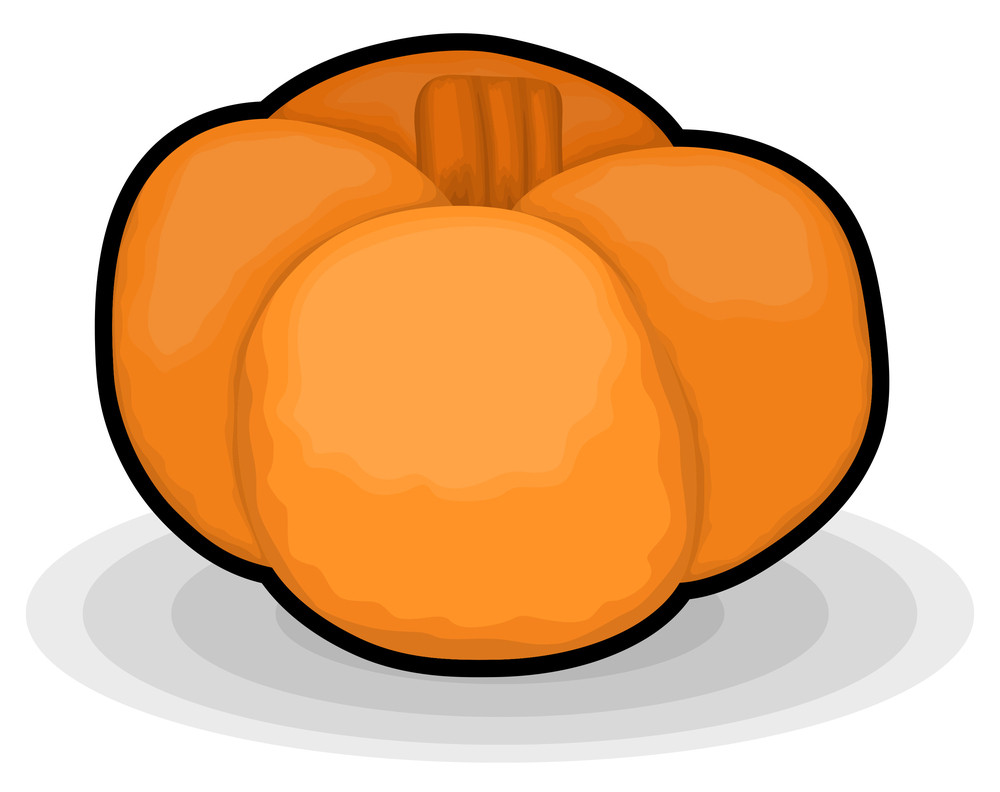 Abstract Pumpkin Design