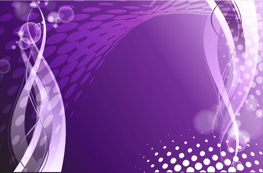 Abstract Purple Design