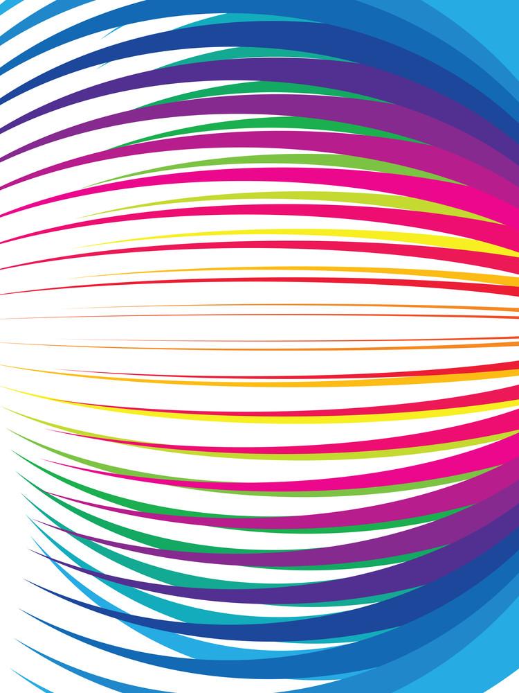 Abstract Rainbow Vector Illustration