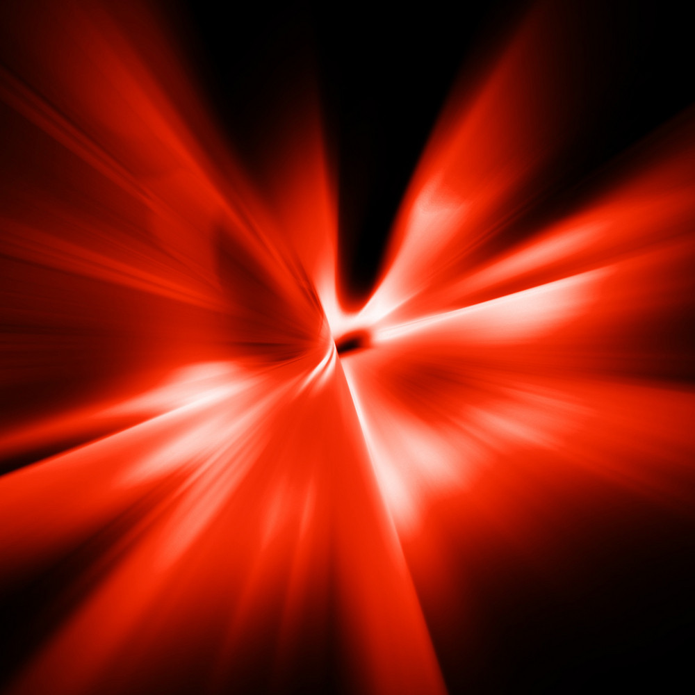 Abstract Red Motion Background
