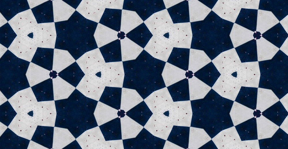 Abstract Retro Graphic Tile