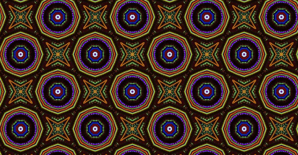 Abstract Retro Pattern Design