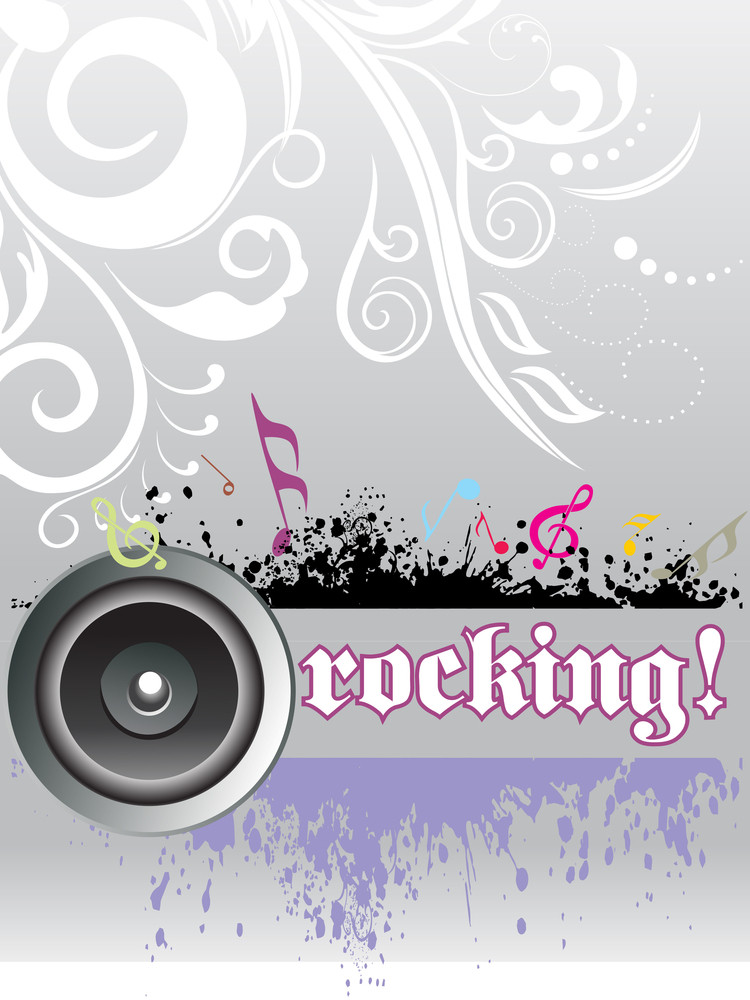 Abstract Rocking Background