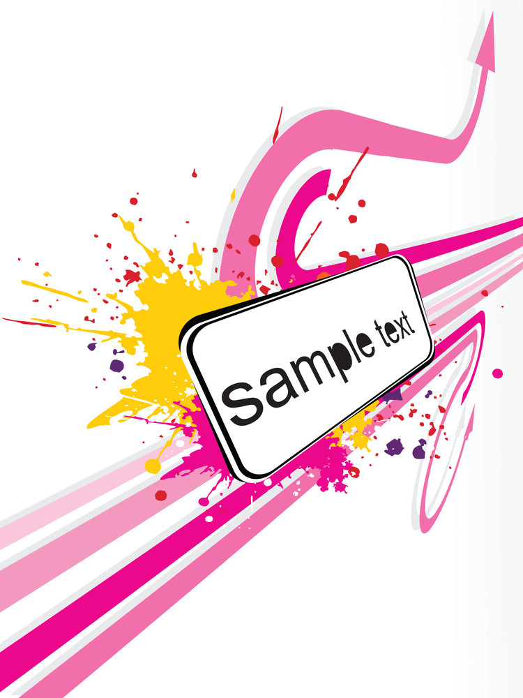Abstract Sample Text Background