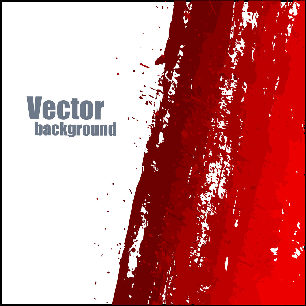 Abstract Scatter Red Banner