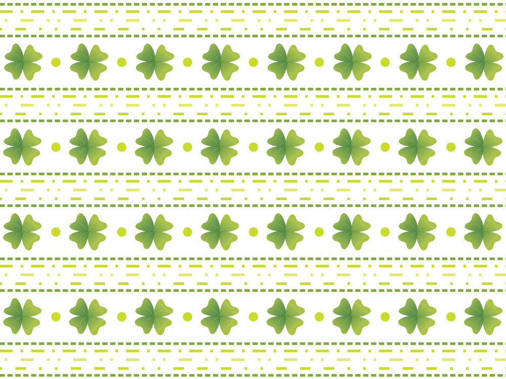 Abstract Shamrock Creative Background 17 March