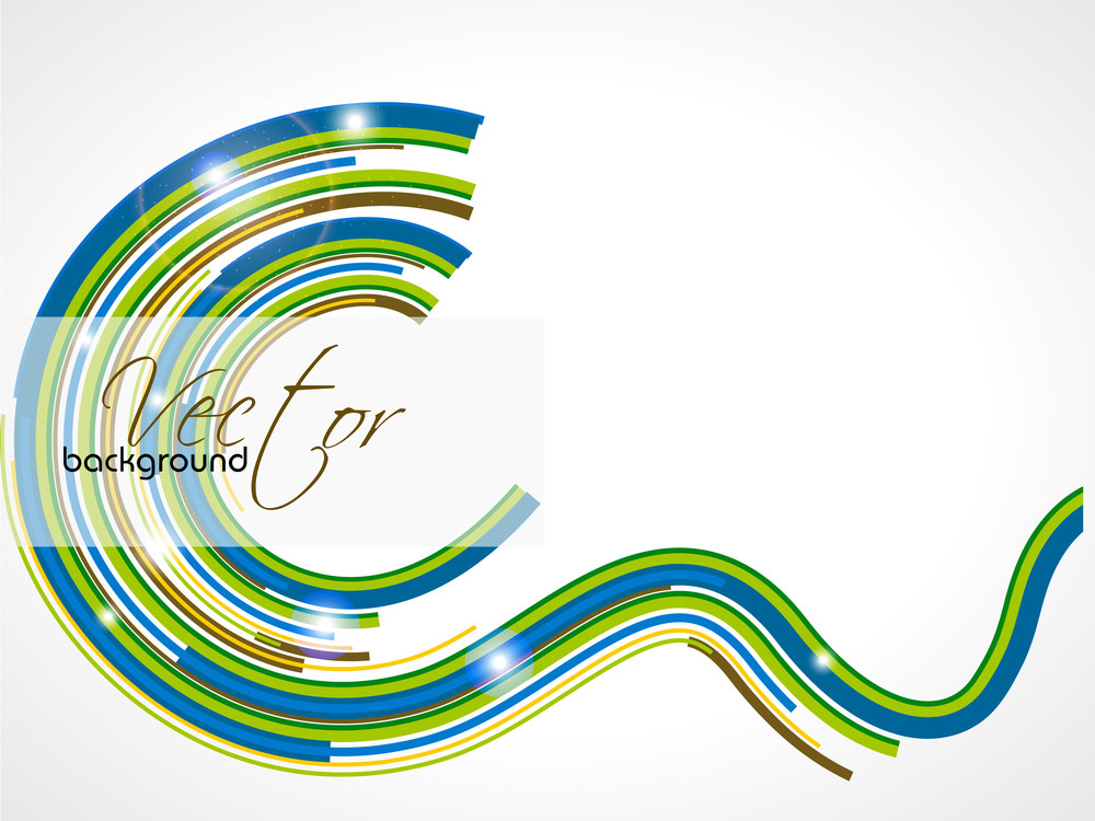 Abstract Shapes Background With Colorful Design For Text Project Used And Copy Space.