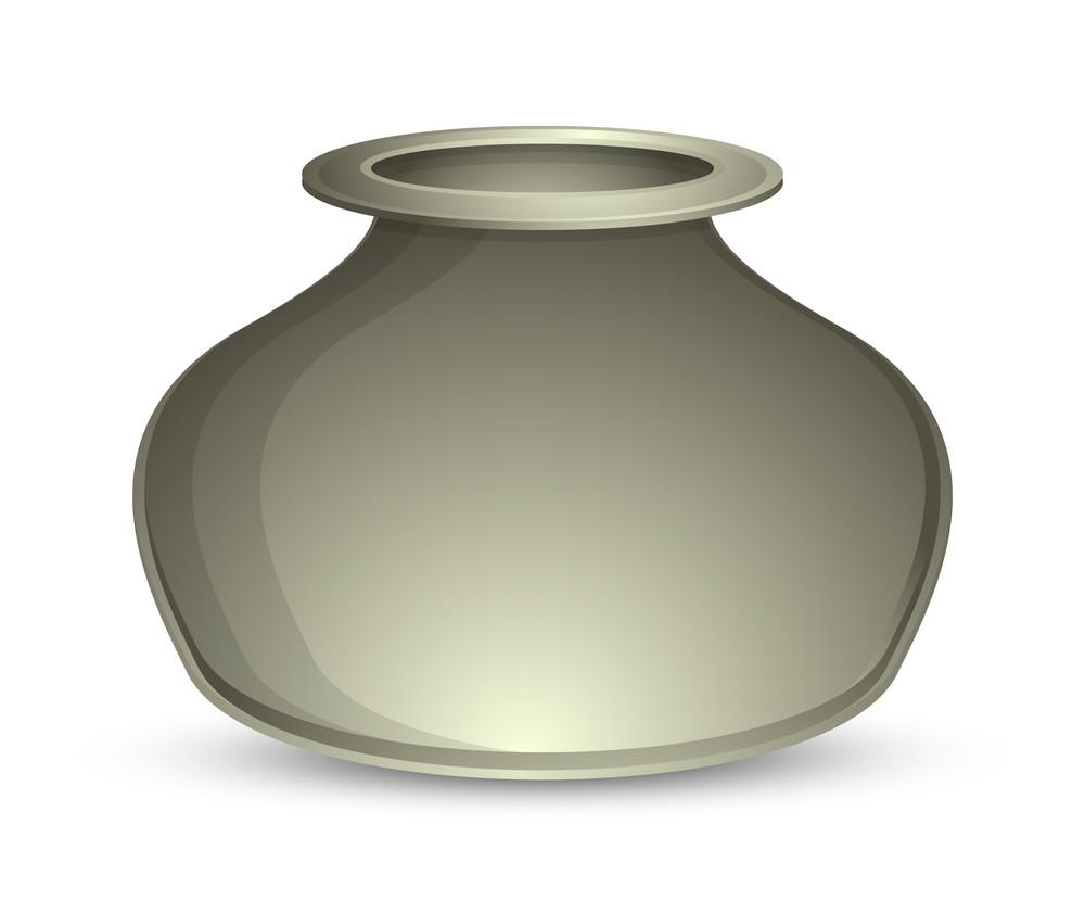 Abstract Shiny Cauldron