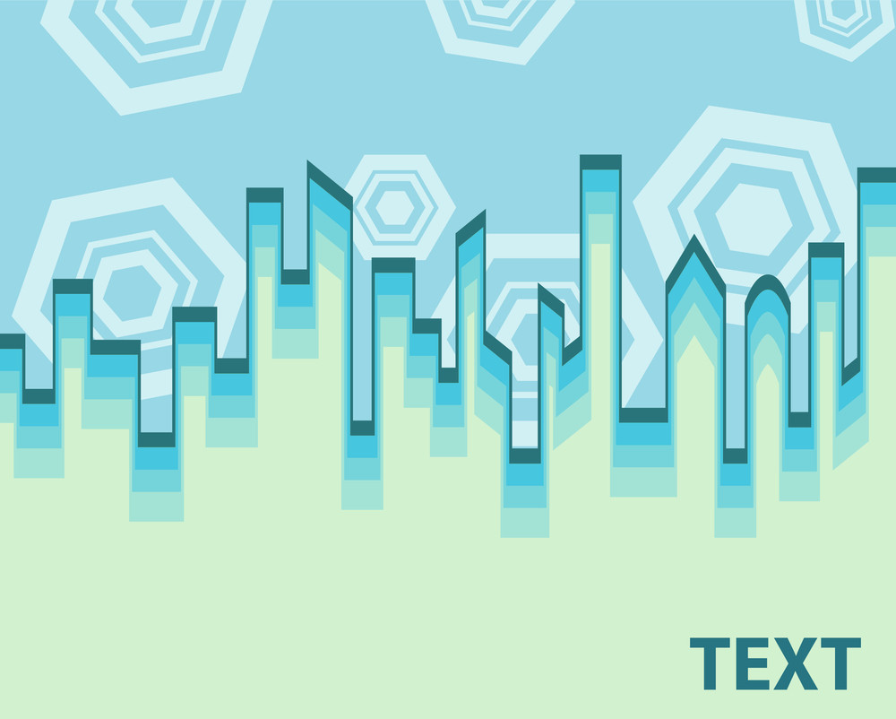 Abstract Skyline Backdrop