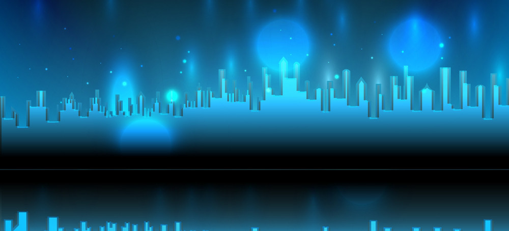 Abstract Skyline Background