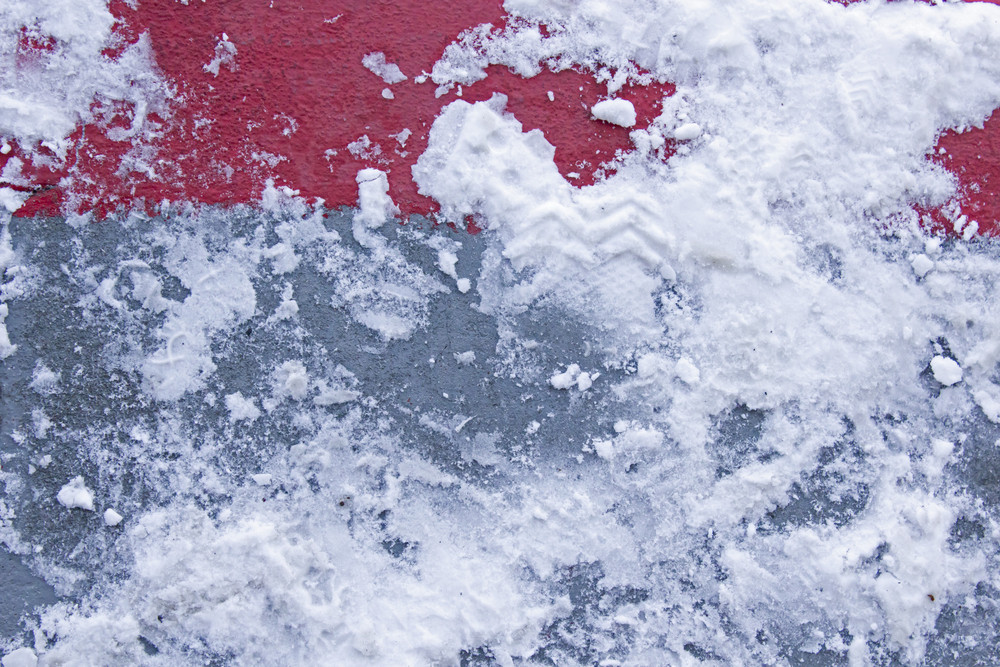 Abstract Snow Texture  Road Background