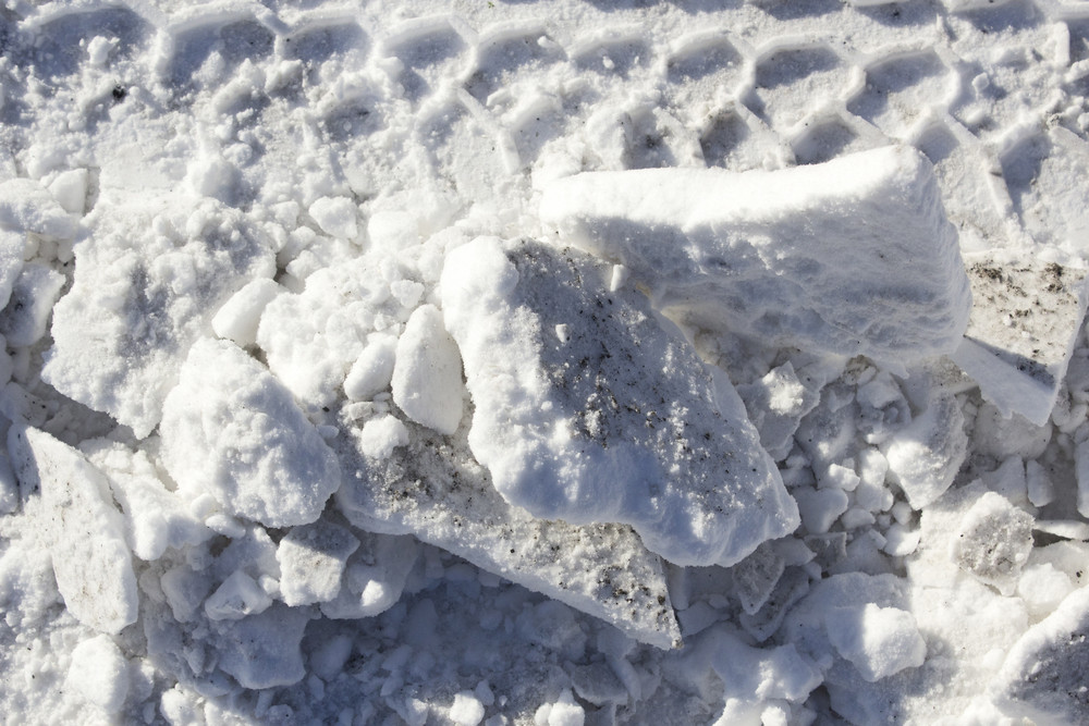 Abstract Snow Texture