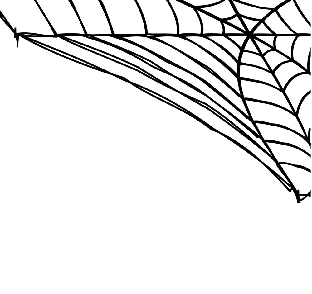 Abstract Spider Trap Background