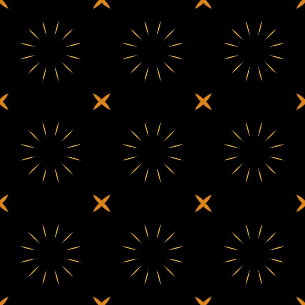 Abstract Stars Pattern Design