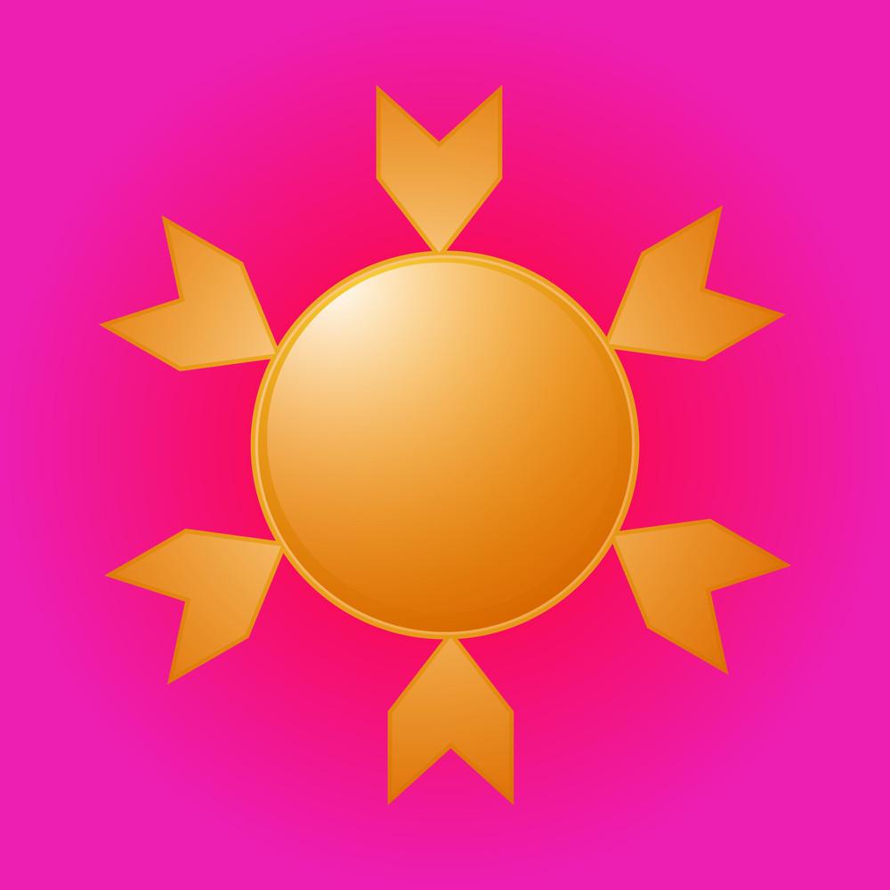 Abstract Sun Design