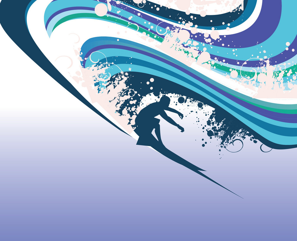 Abstract Surfer